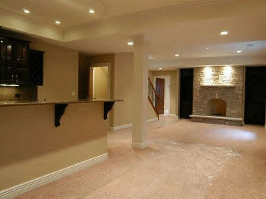 Basement remodeling ideas basement finishing cost for Home designs with basement